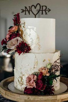 The 50 Most Beautiful Wedding Cakes Fabmood Wedding Colors Wedding Themes Wedding color palettes Black Wedding Cakes, Wedding Cake Rustic, Elegant Wedding Cakes, Elegant Cakes, Beautiful Wedding Cakes, Wedding Cake Designs, Wedding Themes, Beautiful Cakes, Cake Wedding