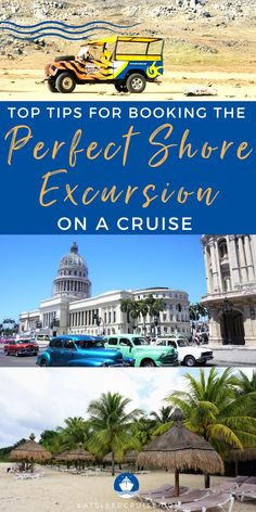 Are you planning a cruise vacation in the near future? If so, you will likely want to book shore excursions with the cruise line, or at the ports of call. Here we share our tips for booking excursions. From cultural immersion tours, local food tours, outdoor adventures, and so many more. No matter if you are visiting the Caribbean Islands, Alaska, or anywhere else around the world our tips will help you plan and book the perfect shore excursions. Check it out and get ready to cruise! Bermuda Vacations, Bahamas Vacation, Cruise Vacation, Cruise Excursions, Cruise Destinations, Shore Excursions, Cruise Ship Reviews, Best Cruise, Royal Caribbean