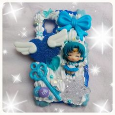 MADE TO ORDER, Custom Sailor Moon Decoden Case For Any Phone, Ipod, Nintendo ds/3ds/3ds xl on Etsy, $45.00
