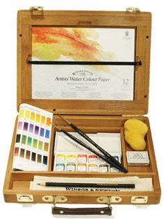 bamboo watercolor box 77.00