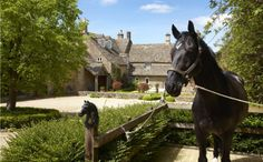 Detached house for sale in Little Compton, Moreton-In-Marsh, Gloucestershire - 32999620 Little Compton, Country Estate, Detached House, Property For Sale, My House, Castle, England, Exterior, Horses