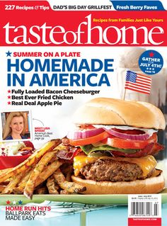 Taste of Home June/July 2012. Click on the cover image to try a free issue!