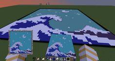 Cool Minecraft Banners, Minecraft Banner Designs, Minecraft Medieval, Minecraft Decorations, Minecraft Construction, Amazing Minecraft, Minecraft Tutorial, Minecraft Blueprints, Minecraft Pixel Art