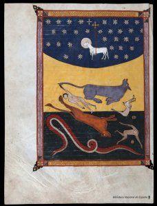Beatus de Liébana : Códice de Fernando I y Dña. Sancha, call number: VITR/14/2 from the National Library of Spain.