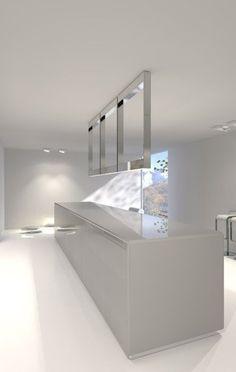 FD2 kitchen system  unit with hidden sink by Filip Deslee