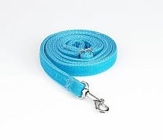 Turquoise Velvet dog leash. Pair with any of our beautiful dog collars!