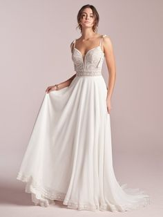 25654 - Jolie by Rebecca Ingram. Try this beauty on at Aurora Bridal in Melbourne, FL 321-254-3880