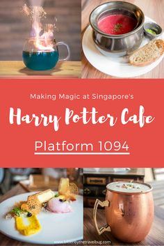 Making Magic at Singapore's Harry Potter Cafe, Platform 1094 - Bitten by the Travel Bug Inspired by J. Rowling's Wizarding World, make your trip to Singapore a little more magical with a visit to the cities Harry Potter cafe, Platform Travel Blog, Travel Advice, Foodie Travel, Asia Travel, Travel Guides, Overseas Travel, Croatia Travel, Hawaii Travel, Italy Travel