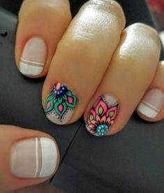 Locate a top coat with the chunkiest parts of glitter it is possible to locate and paint it on the ends of your nails. Shellac nails are very simple to apply. For those who have not tried Shellac n… Mandala Nails, Shellac Nails, Nails Inspiration, Most Beautiful, Nail Designs, Hair Beauty, Nail Art, Hair Makeup, Color