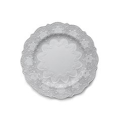 Arte Italica Merletto White Dinner Plate - Liz Ann's Interior Design Boutique