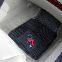Atlanta Hawks NBA Heavy Duty 2-Piece Vinyl Car Mats (18x27)