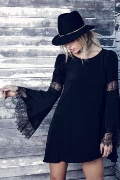Black Boho-•> what's not to love?!?!
