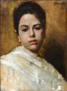 by Antonio Mancini Figure Painting, Painting & Drawing, Andrea Mantegna, Oil Portrait, Portrait Paintings, John Singer Sargent, Art Moderne, Italian Artist, Portraits