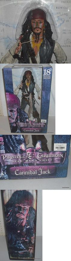 Pirates of the Caribbean 142334: Pirates Of The Caribbean Cannibal Jack 18 Figure Motion Activated Sound Nrfb -> BUY IT NOW ONLY: $42.48 on eBay!