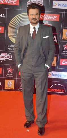 Anil Kapoor at GiMA 2015 Awards.