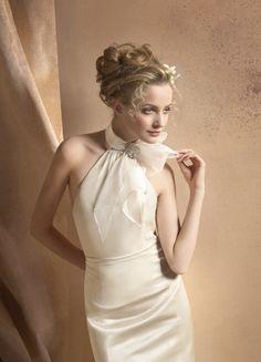 turtleneck wedding dress - Google Search