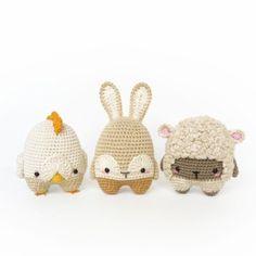 4 seasons Easter special amigurumi pattern by Lalylala