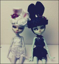 Blanc and Noir by limbiclullaby.deviantart.com on @deviantART