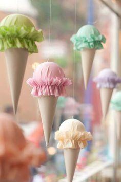 Ice Cream Cart Birthday Party | Sweet Little Peanut