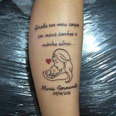 Tatuagens para mães: 20 ideias para celebrar o amor pelos filhos – Bebe.com.br