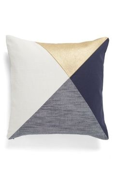 Nordstrom at Home Colorblock Accent Pillow available at #Nordstrom
