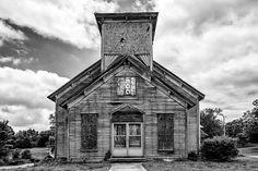 Adams, Tennessee - Abandoned Church (RQ0A5274)