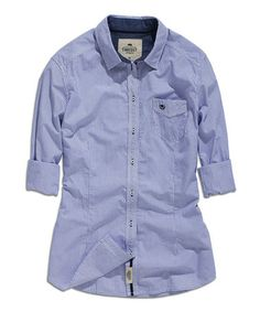 Take a look at this Ink Plaid Pocket Button-Up on @zulily today!