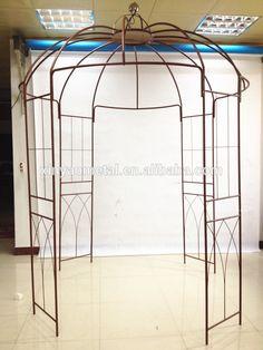 Wedding arches patio metal garden furniture iron garden for Pergolas de hierro para jardin