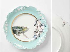 Anthropologie dinnerware collezione natura