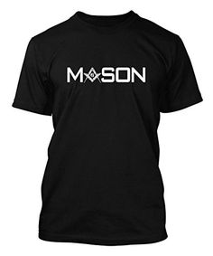 Mason-Square-Compass-Mens-T-shirt-Tee-0