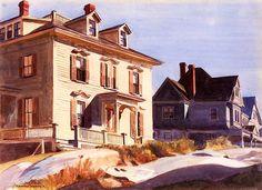 bofransson: Gloucester Houses Edward Hopper - 1926-1928