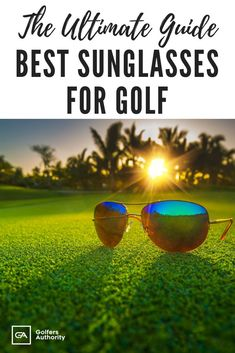Golf Fashion Are you looking for the Best Sunglasses for Golf? Check out our in depth buyers guide to find the best pair of sunglasses for you. Mens Golf Fashion, Fashion Kids, Golf Sunglasses, Golf Chipping Tips, Editorial, Vintage Golf, Golf Instruction, Golf Exercises, Golf Lessons