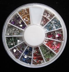 3D Acrylic Decoration Manicure Nail Art Random Mix Type Star Rhinestones *** Read more at the image link.