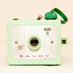 Say cheese! Delicious, savory, and scrumptiously cute Savoy Mark II Camera featured on Fab.