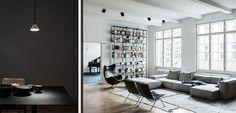 Un apartamento moderno y masculino en Berlín - http://www.decoora.com/un-apartamento-moderno-y-masculino-en-berlin/