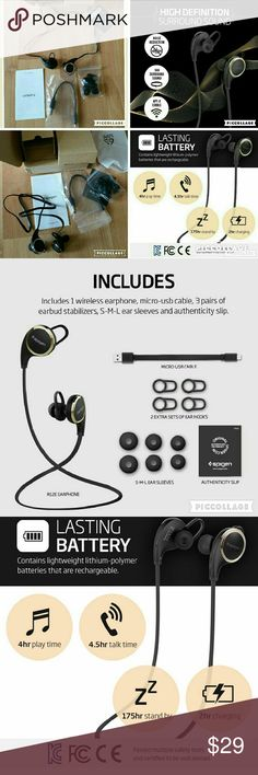 """ SALE"" WIRELESS EARPHONES BRAND NEW :Bluetooth Headphones, Wireless Headphones w/ Microphone Earbuds Headset Earphones for iPhone SE/6s/6/6s Plus/6 Plus/Galaxy S7/Galaxy S7 Edge/LG G5/Nexus 5X/6p & More - Black (SGP11844)   CHECK OUT MY OTHER LISTINGS YOU CAN GET DISCOUNT WHEN YOU BUY BUNDLE. HAPPY SHOPPING! ! ! Accessories"