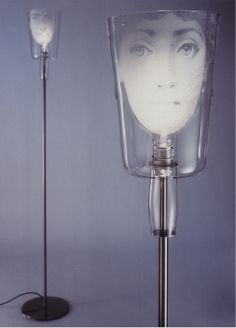 Tall fornasetti floor lamp