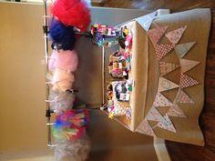 Craft fair table - 2012
