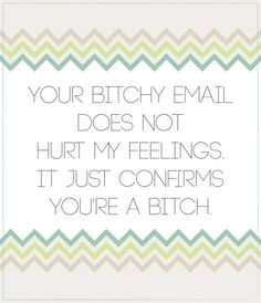Your bitchy email doesn't hurt my feelings //by Delphine. Quotable Quotes, Me Quotes, Funny Quotes, Dont Hurt Me, In My Feelings, Etiquette, Beautiful Words, Ephemera, Wise Words