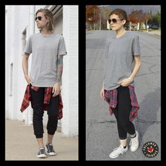 Flannel Foxes creates unisex apparel and accessories made in our home and native land. Fox Man, My Vibe, Tomboy Fashion, Foxes, Flannel, Short Hair Styles, Women Wear, Normcore, Sporty