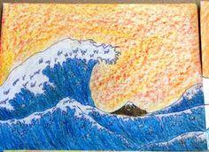 Hokusai Art lesson