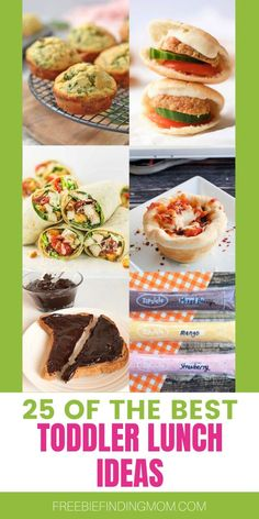 Need toddler meals that your kid will eat? Whether you are packing a toddler lunch box or just need toddler lunch ideas for at home, here are 25 delicious and easy recipes to inspire you. You'll find recipes for pizza cupcakes, mini chicken quesadillas, peanut butter and jelly mini pancake stacks, and more! Head on over and check them out! Gluten Free Desserts, Gluten Free Recipes, Vegan Recipes, Easy Recipes, Toddler Lunch Box, Toddler Lunches, Pizza Recipes, Chicken Recipes, Pizza Cupcakes