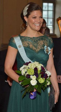 Crown Princess Victoria, March 20, 2015 in Jenny Packham   Royal Hats