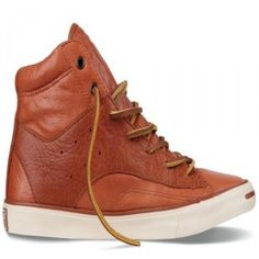 1fa50729797c Converse Jack Purcell Mens sneakers Mid Cow leather dark orange beige canada  shoes online sale