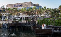 Cancun Wedding Photographer   bride and groom wedding photo session at Hard Rock Hotel   Mexico luxury beach destination wedding photography