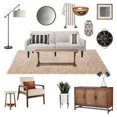 Target Budget Living Room - Emily Henderson - Emily Henderson Target Living Room California Casual Budget Refresh You are in the right place about - Casual Living Rooms, Living Room On A Budget, Living Room Remodel, My Living Room, Living Room Furniture, Living Room Decor, Bedroom Decor, Furniture Stores, Small Living