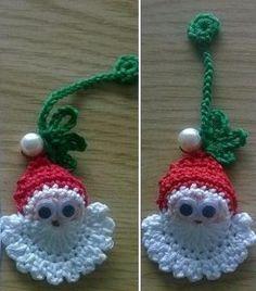 Zen, Crochet Earrings, Christmas Gifts, Santa, Molde, Xmas Gifts, Christmas Presents