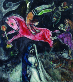 Chagall. Love that Lesley introduced me to this artist!