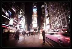 New York Wedding - Times Square!
