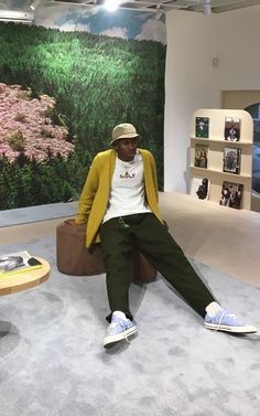 tyler the creator casual style Tyler The Creator Fashion, Tyler The Creator Outfits, Golf Fashion, Mens Fashion, Tyler The Creator Wallpaper, Rapper, Young T, Aesthetic Clothes, Aesthetic Outfit